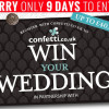 Win a Wedding with Confetti