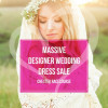 Designer Wedding Dress Sale at Chester Racecourse Wedding Fair