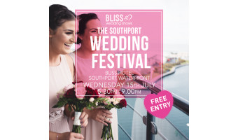 NEW DATE – Southport Wedding Festival 15th July 2020