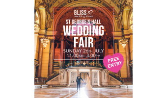 NEW DATE – St George's Hall Wedding Show 26th July
