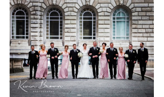 Why are bridesmaids dresses the same colour?