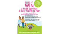 Win one of four stands at our Spring Wedding Fairs