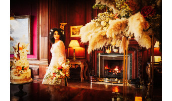 A wedding venue fit for royalty