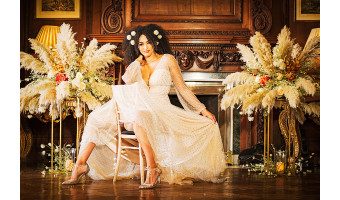 For brides who want different, modern and edgy!